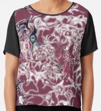 Brain on Surrealism - version for dark color fabrics Chiffon Top