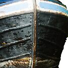 Narrowboat bow  by bywhacky