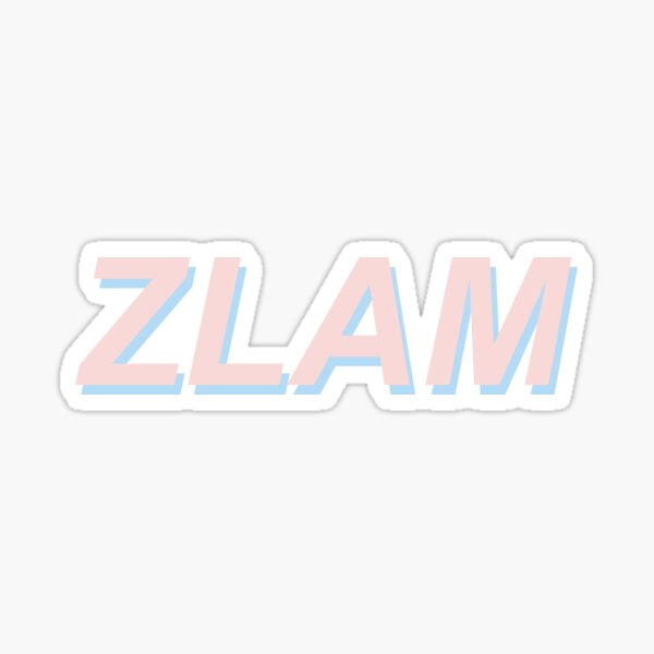 ZLAM Sticker
