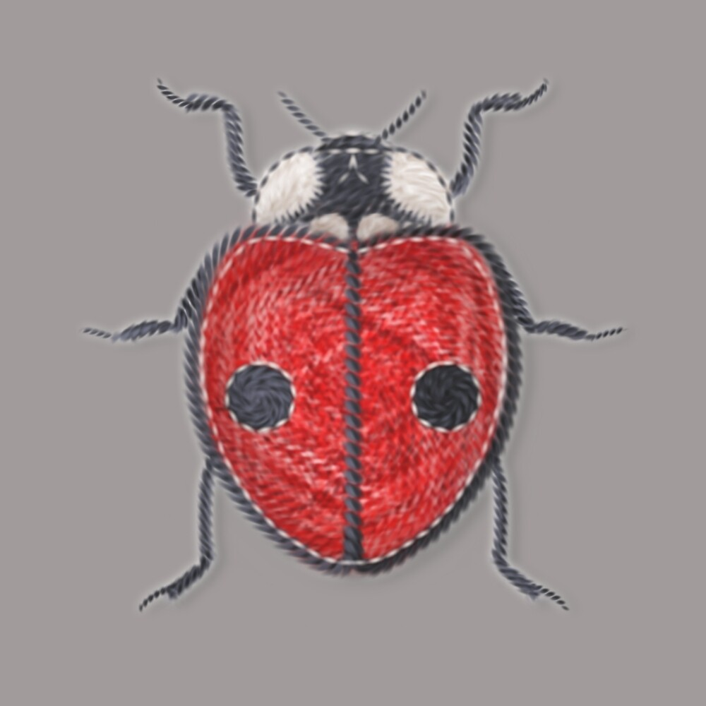 Ladybug - Red by Sunflow