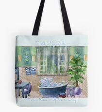 Schaumbad ~ Extreme Self-Care Day ~ Inspirational Funny Gift ~ Liebe dich selbst! Tote Bag