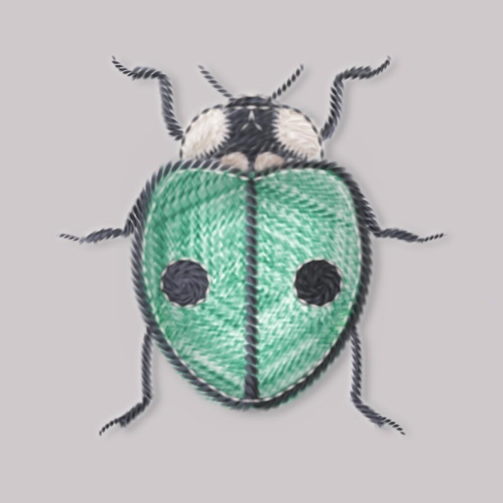 LadyBug - Green Emeraude by Sunflow