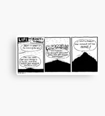 life with Figit and the Weed. #22. Wart worries.   Canvas Print