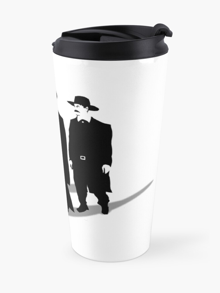 Alternate view of Tombstone Dogs Travel Mug