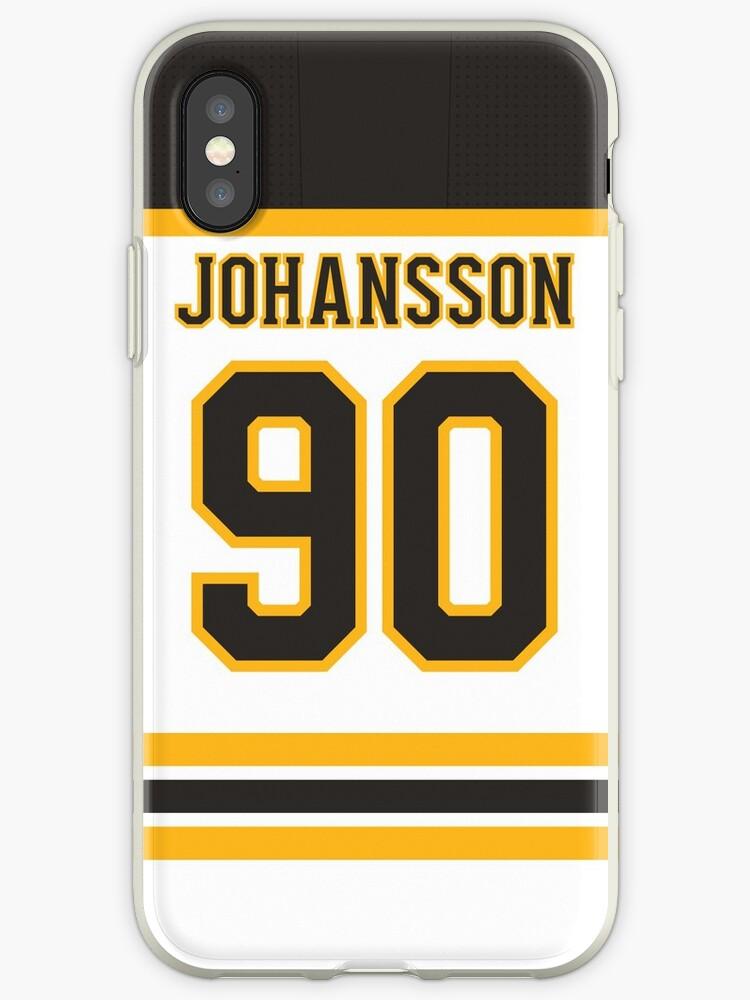 da11e7fa5 Boston Bruins Marcus Johansson Away Jersey Back Phone Case
