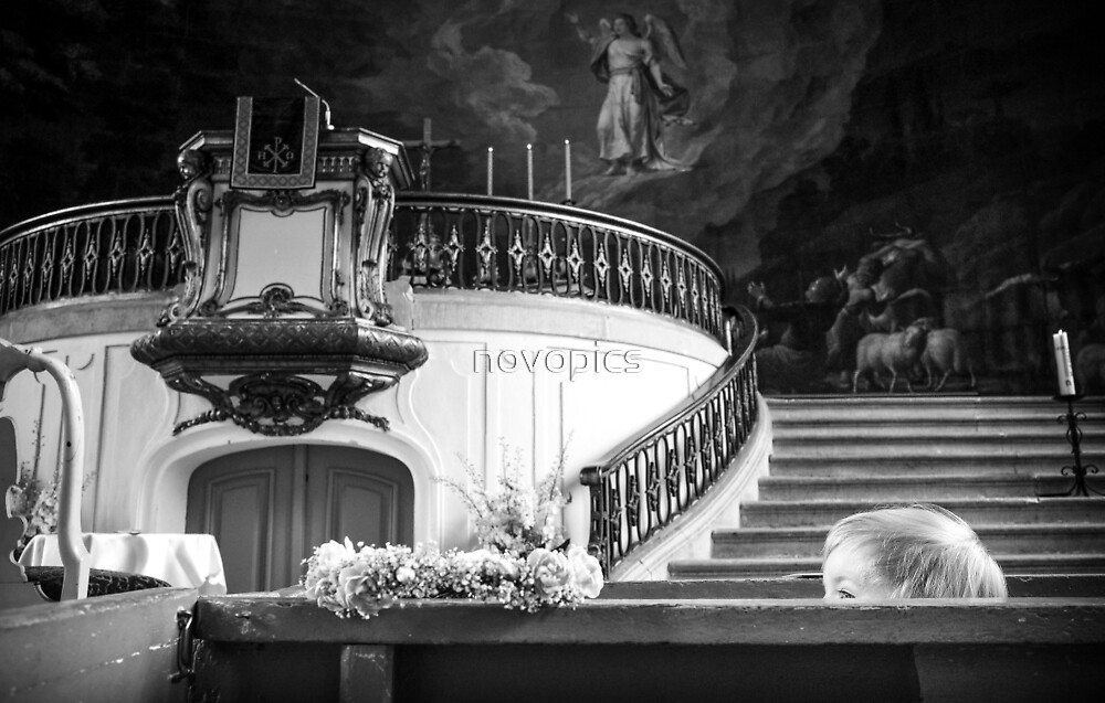 Child In A Church by novopics