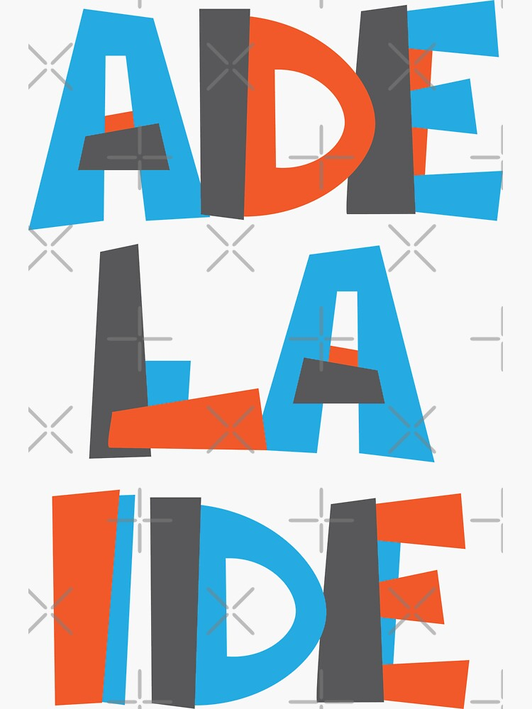 Adelaide Hand Drawn Text by designkitsch