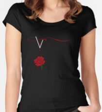 Vampire Diaries Women's Fitted Scoop T-Shirt