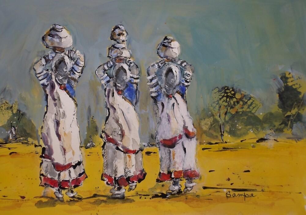 Three Sisters by Sampa Bhakta