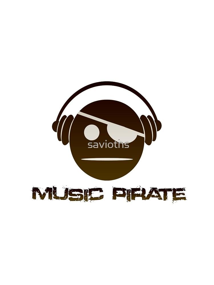Music Pirate Dark Edition by savioths
