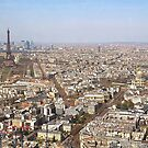Paris from Above II by Louise Fahy