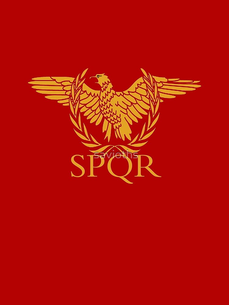Senatus Populusque Romanus The Senate and People of Rome by savioths