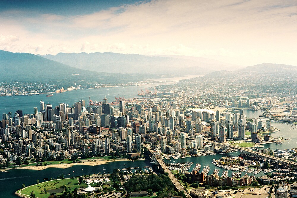 Vancouver (Aerial View) by Chad Kruger