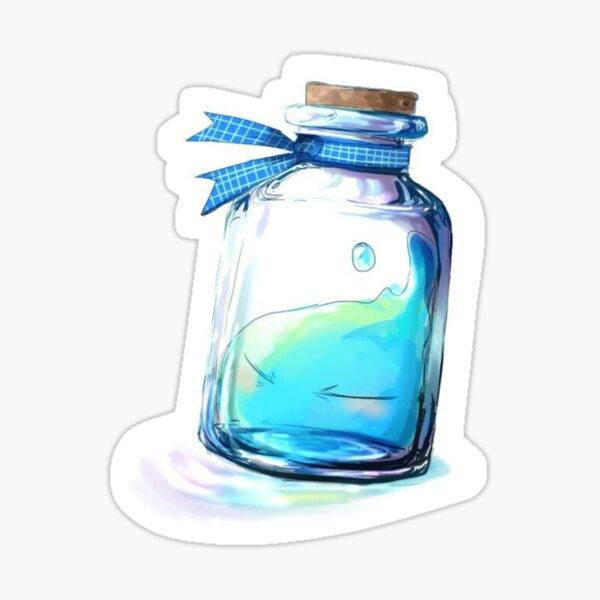Rimuru in a glass Sticker