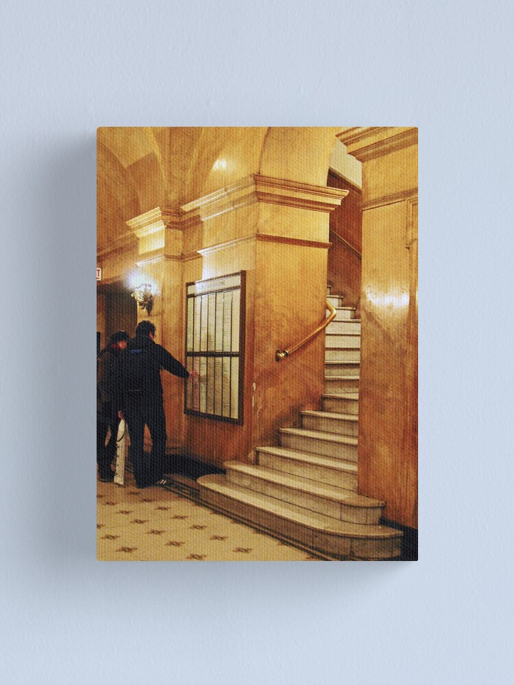 Alternate view of Golden Arches Redux Canvas Print