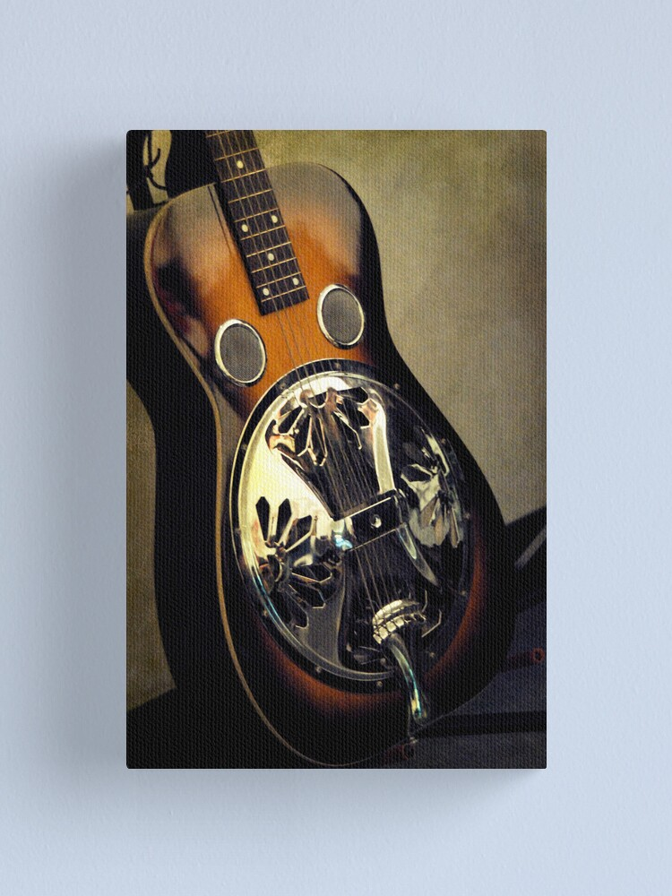 Alternate view of Dobro Canvas Print