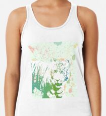 Am I that Tigers Lunch? Racerback Tank Top