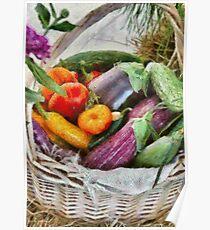 Farm - Fresh Vegetables Poster