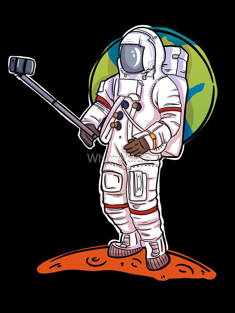 """Astronaut taking a selfie on Mars"""" Baby One-Piece by Whynot123 