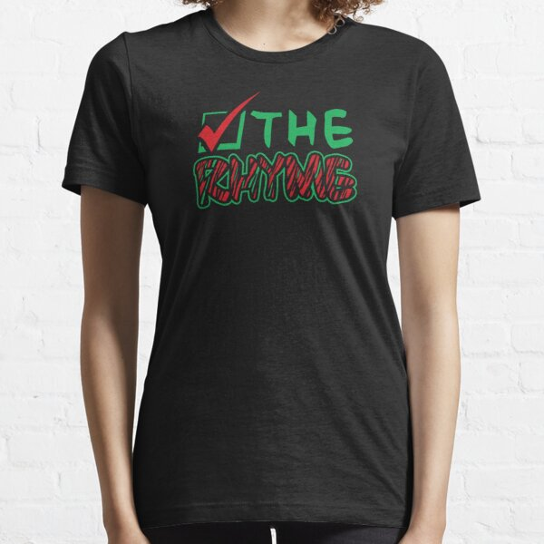 Check the Rhyme Essential T-Shirt