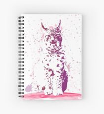 The Lynx – A Face of Wisdom Spiral Notebook