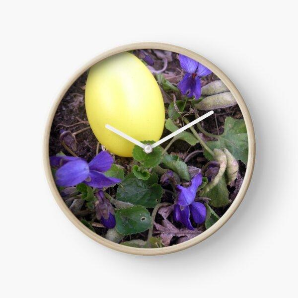 Oster-Ei Uhr