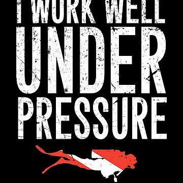 I work well under pressure - Scuba diving by alexmichel
