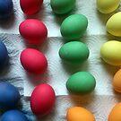 Frisch gefärbte Oster-Eier von Gourmetkater
