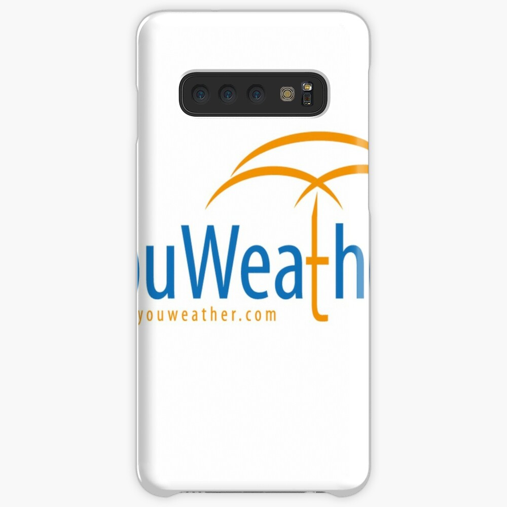 YouWeather meteorology Case & Skin for Samsung Galaxy