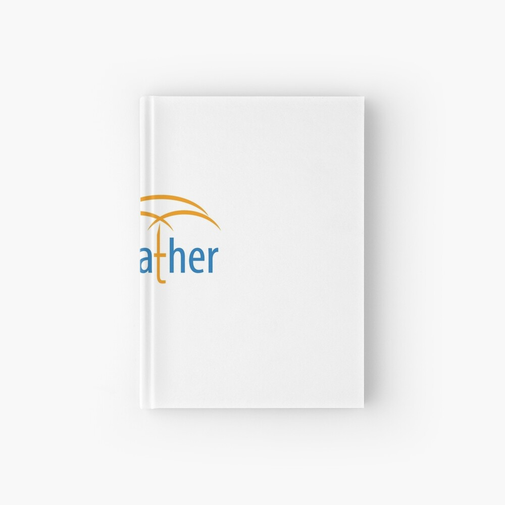 YouWeather meteorology Hardcover Journal