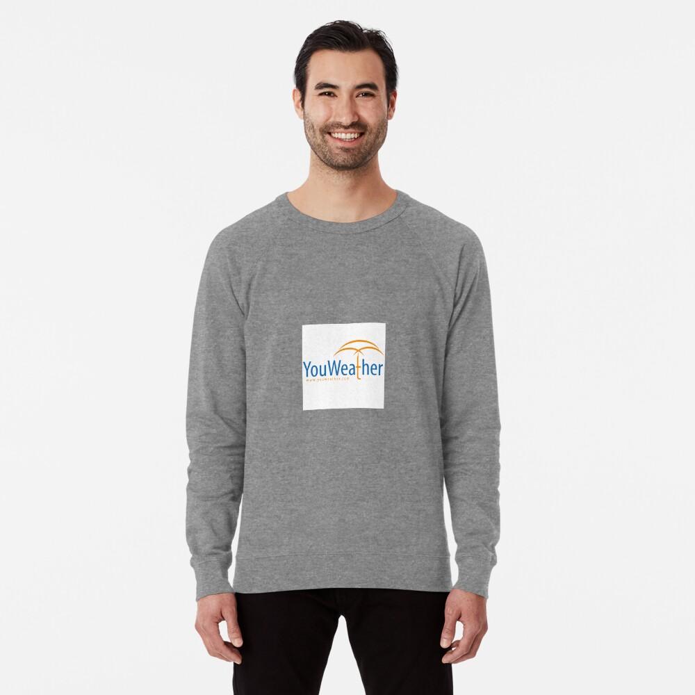 YouWeather meteorology Lightweight Sweatshirt
