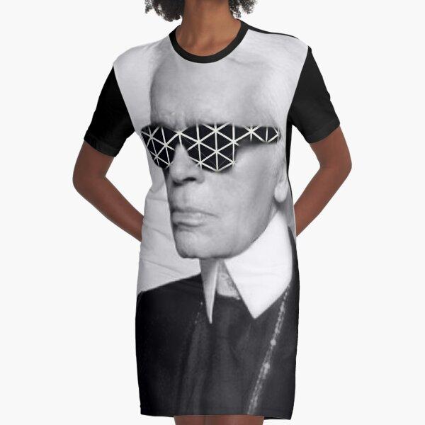 Karl Lagerfeld Graphic T-Shirt Dress