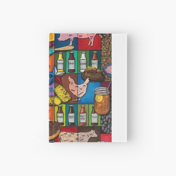 BBQ Hardcover Journal