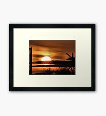 Easter Sunrise...2010 #2 Framed Print