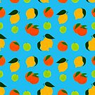 Happy citrus pattern by idriera