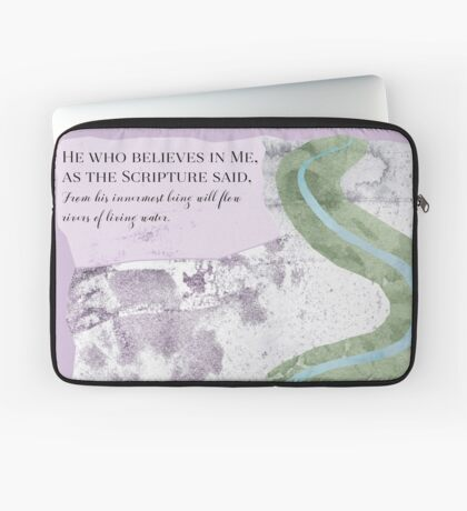 River of Life Laptop Sleeve