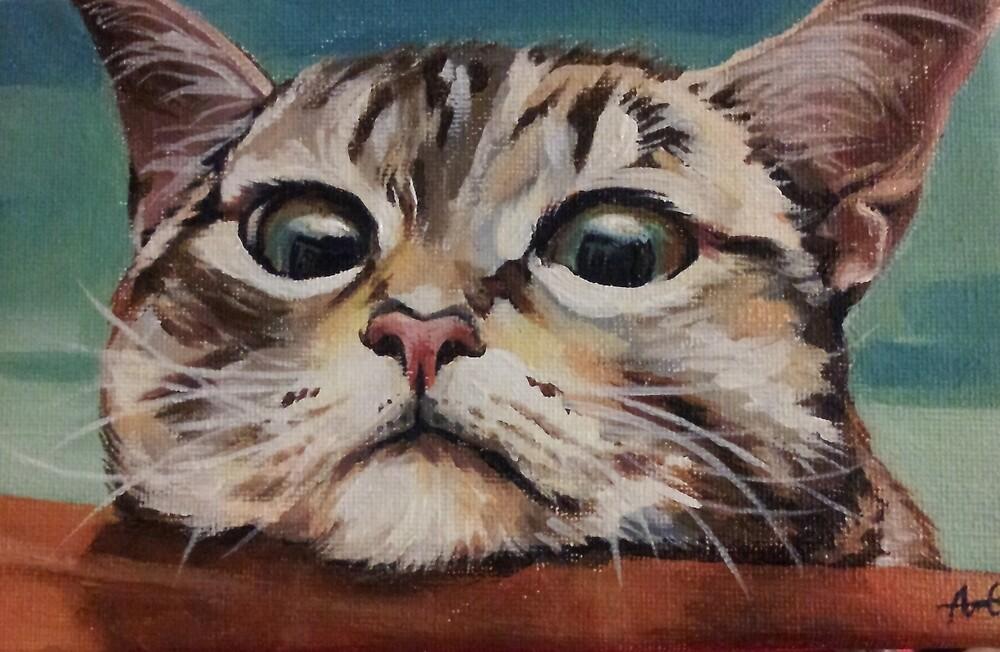 CAT by AnnieYCArt