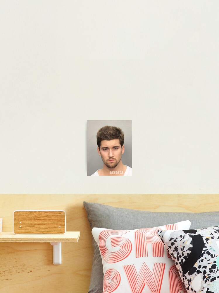 Jeff Wittek Mugshot Merch Photographic Print By Easybreezy1 Redbubble