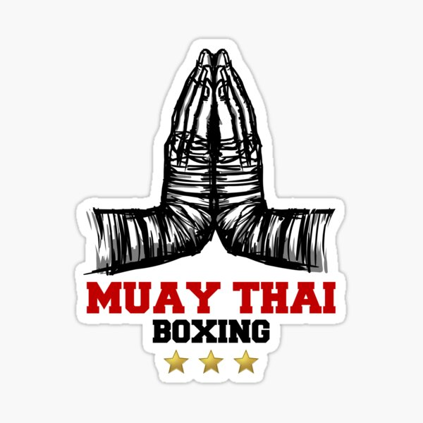 Muay Thai, fighting on the great stage Sticker