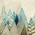 Mountains Top by Rose Halsey