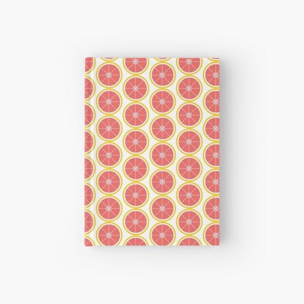Grapefruit Slice Pink Yellow Hardcover Journal
