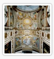 Ceiling in Italy Sticker