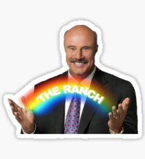 Dr. Phil - The Ranch Rainbow Sticker