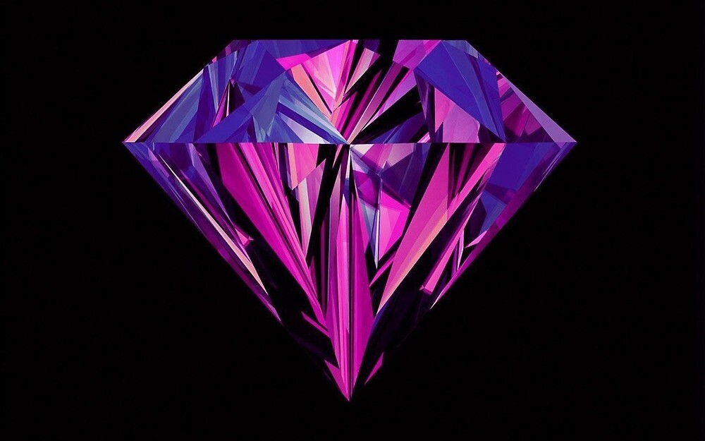 Shine Bright Like a Purple Diamond by Whychronology