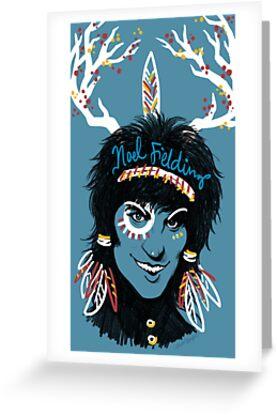 Noel Fielding: Blue Diamonds by Seahorse Carousel