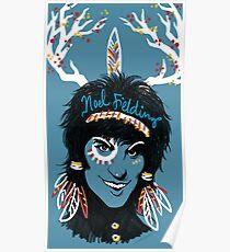 Noel Fielding: Blue Diamonds Poster
