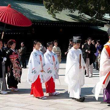 Wedding at Meiji Shrine, Harajuku by FMGoreKelly