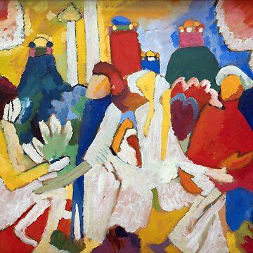 Oriental, Wassily Kandinsky by fourretout