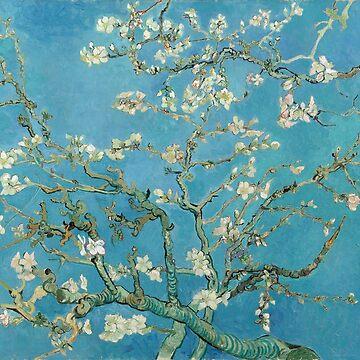 Almond Blossom, Vincent Van Gogh by fourretout