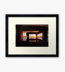Last Light... Framed Print